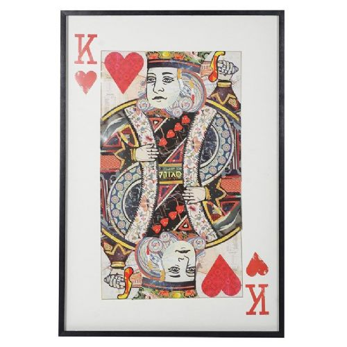 King of Hearts Picture Collage